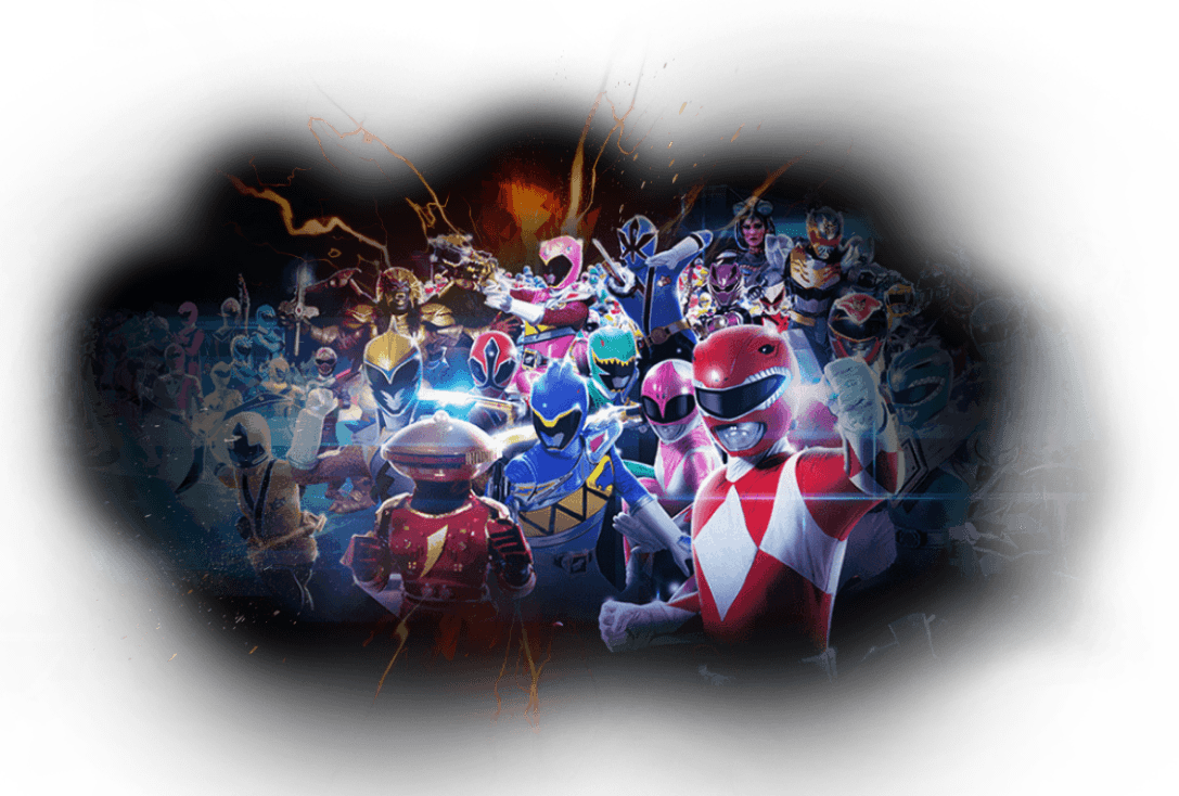 Discover the Power Rangers Series
