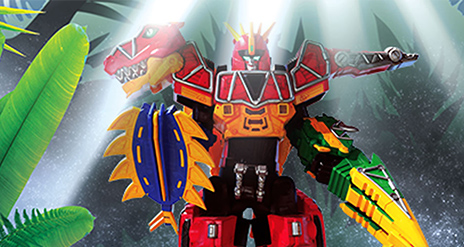 MEGAZORD DINO CHARGE