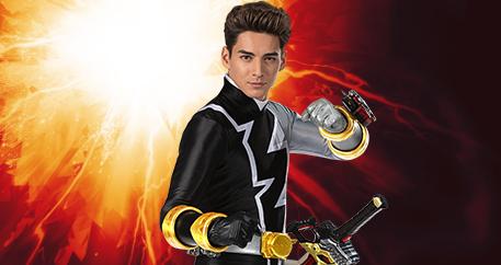 Power Ranger negro Javi García