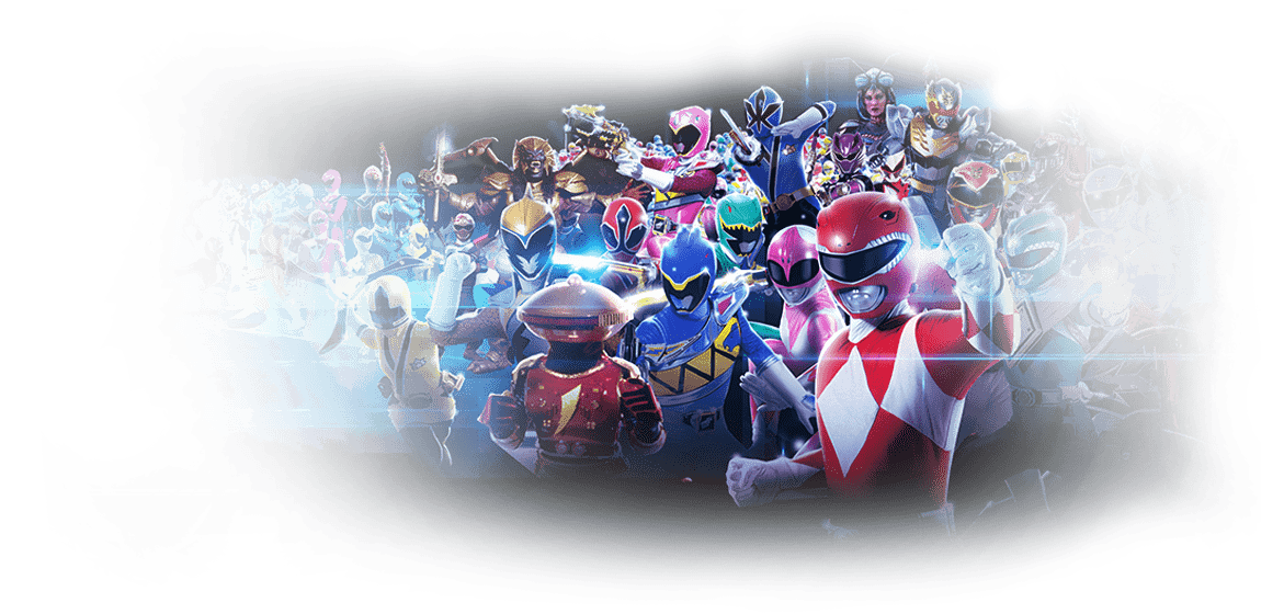 Discover the<br> Power Rangers Series