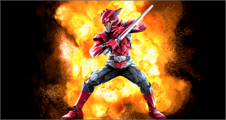 Cybervillain Blaze