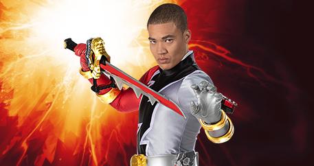 Power Ranger rojo Zayto