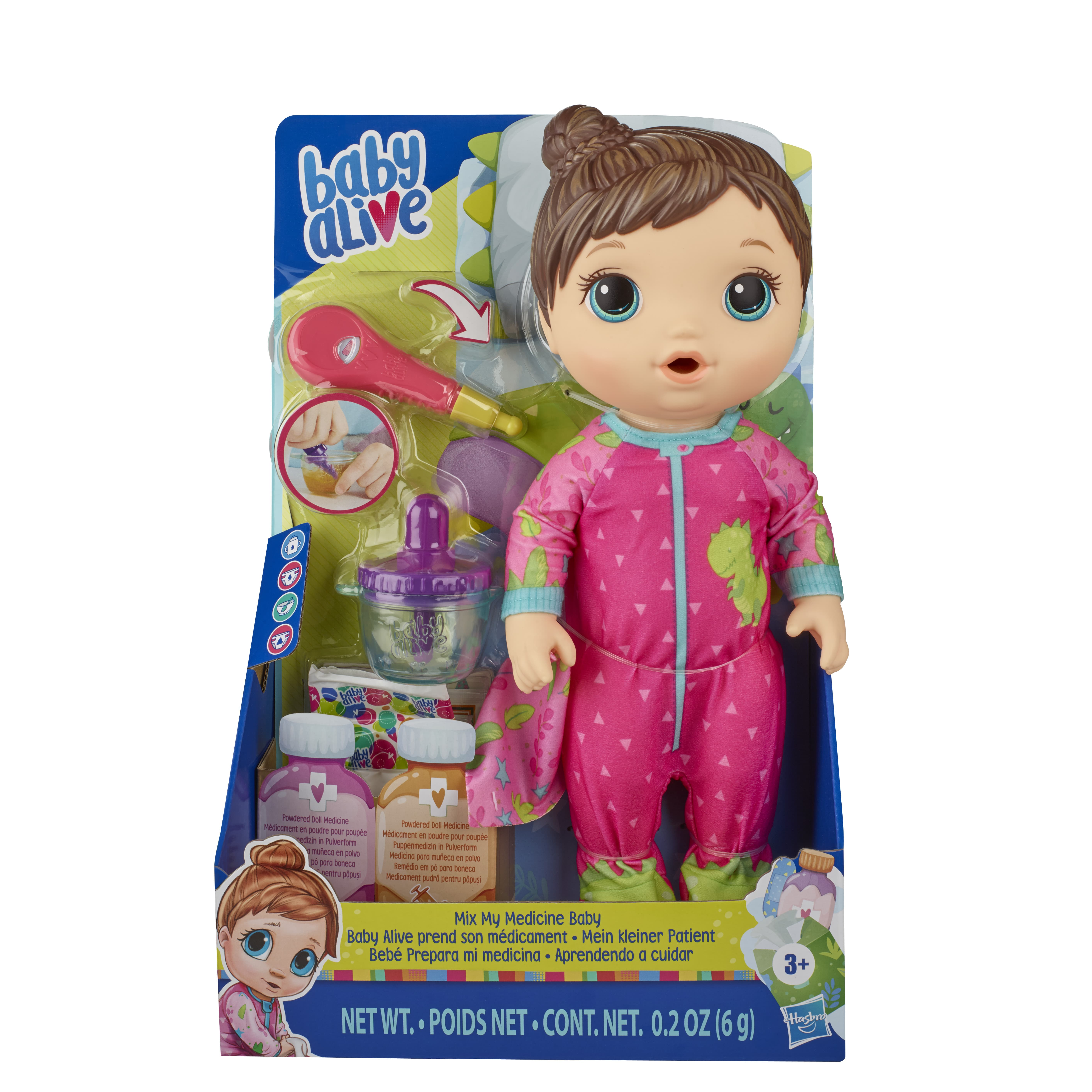 E6942 BABY ALIVE MIX MY MEDICINE 3 In Pack