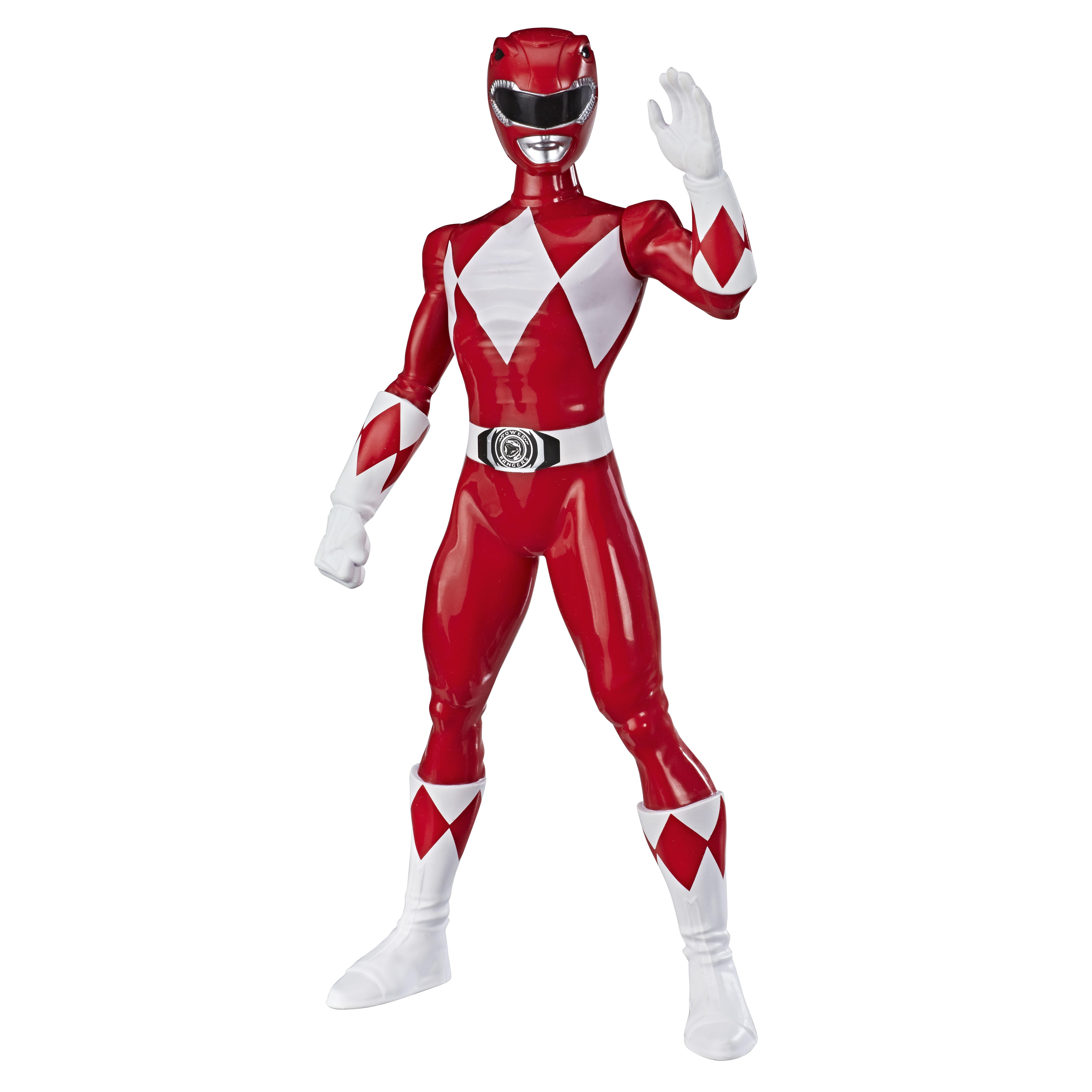 E7897 MMPR 9.5 Inch Basic Figures Red Ranger_OOP