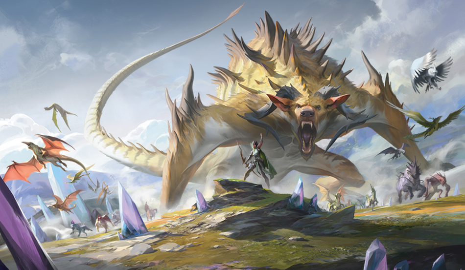 Ikoria: Lair of Behemoths Makes Magic: The Gathering History