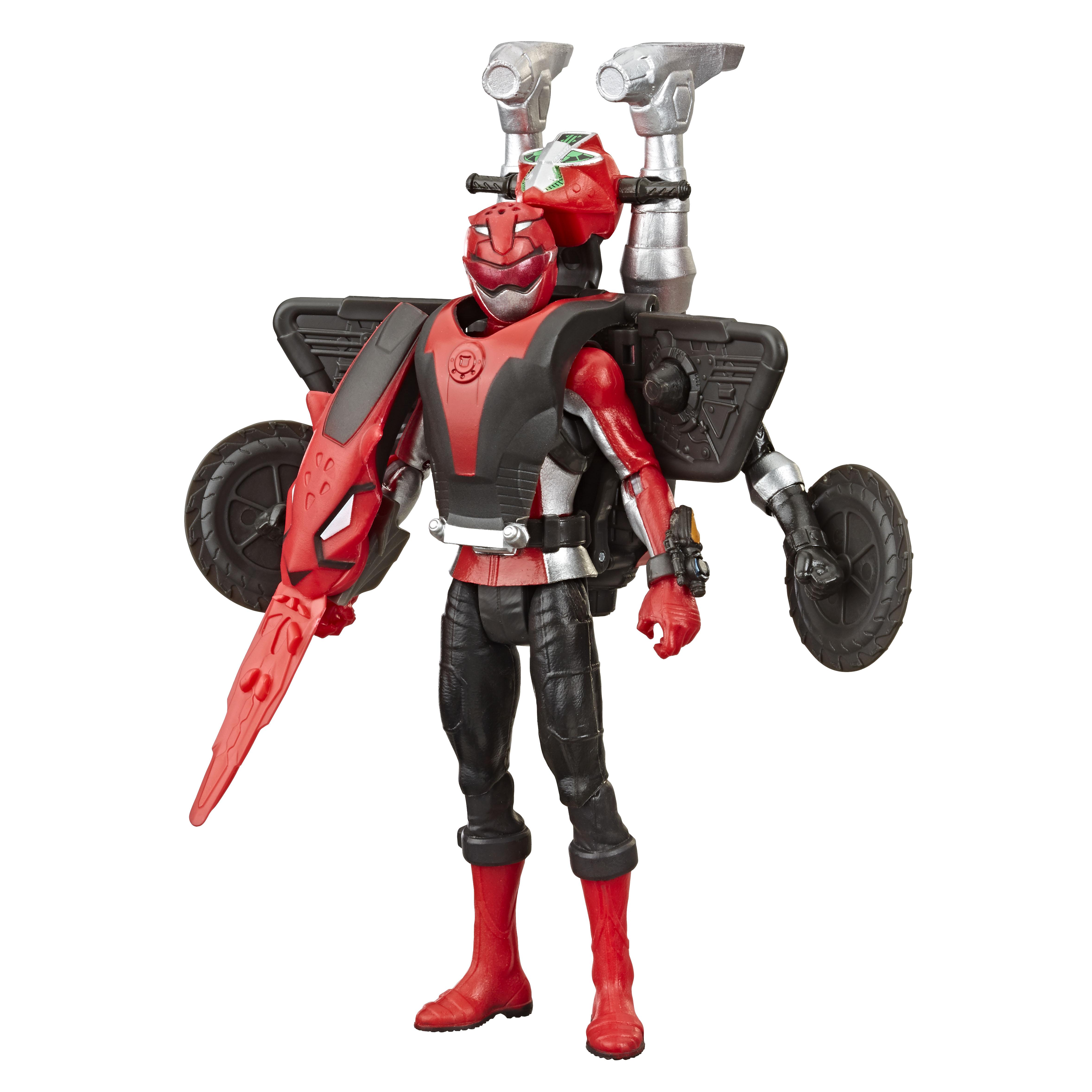 E7324 6in Beastbot 2-pack Red Ranger_OOP