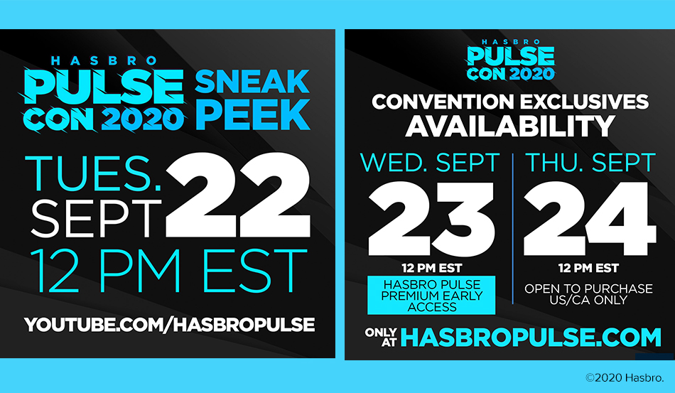 Hasbro PulseCon Excitement is Building!