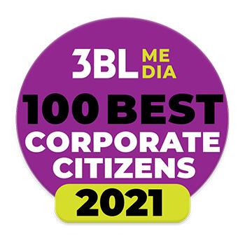 3BL Media 100 Best Corporate Citizens 2021