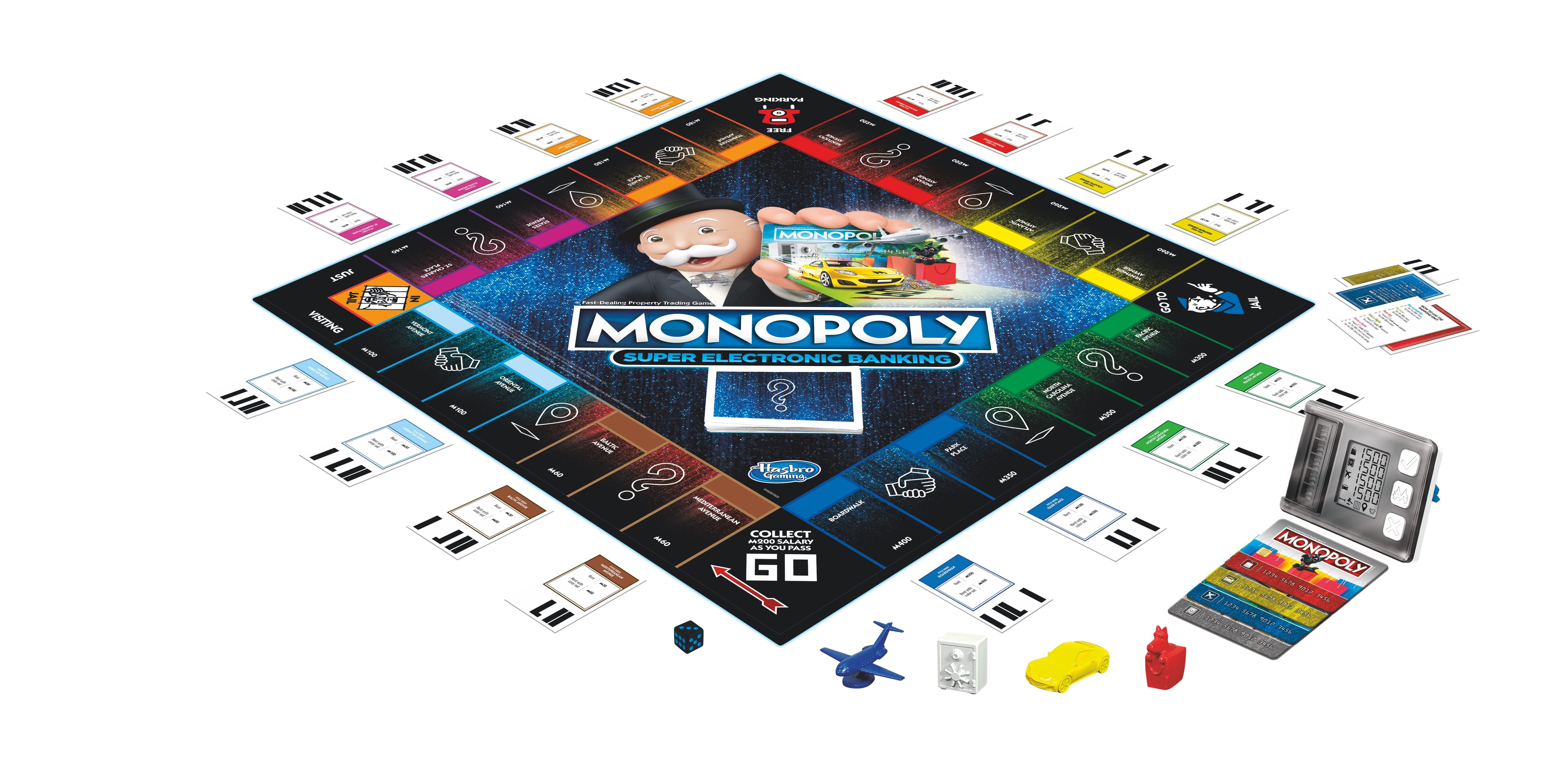 E8978 MONOPOLY Rewards board