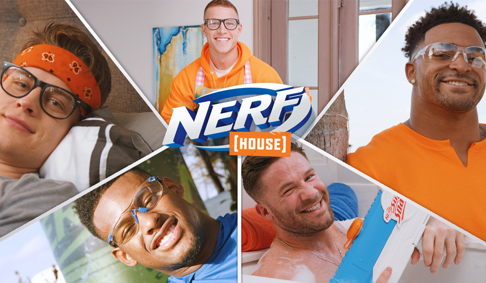 Welcome to the NERF House