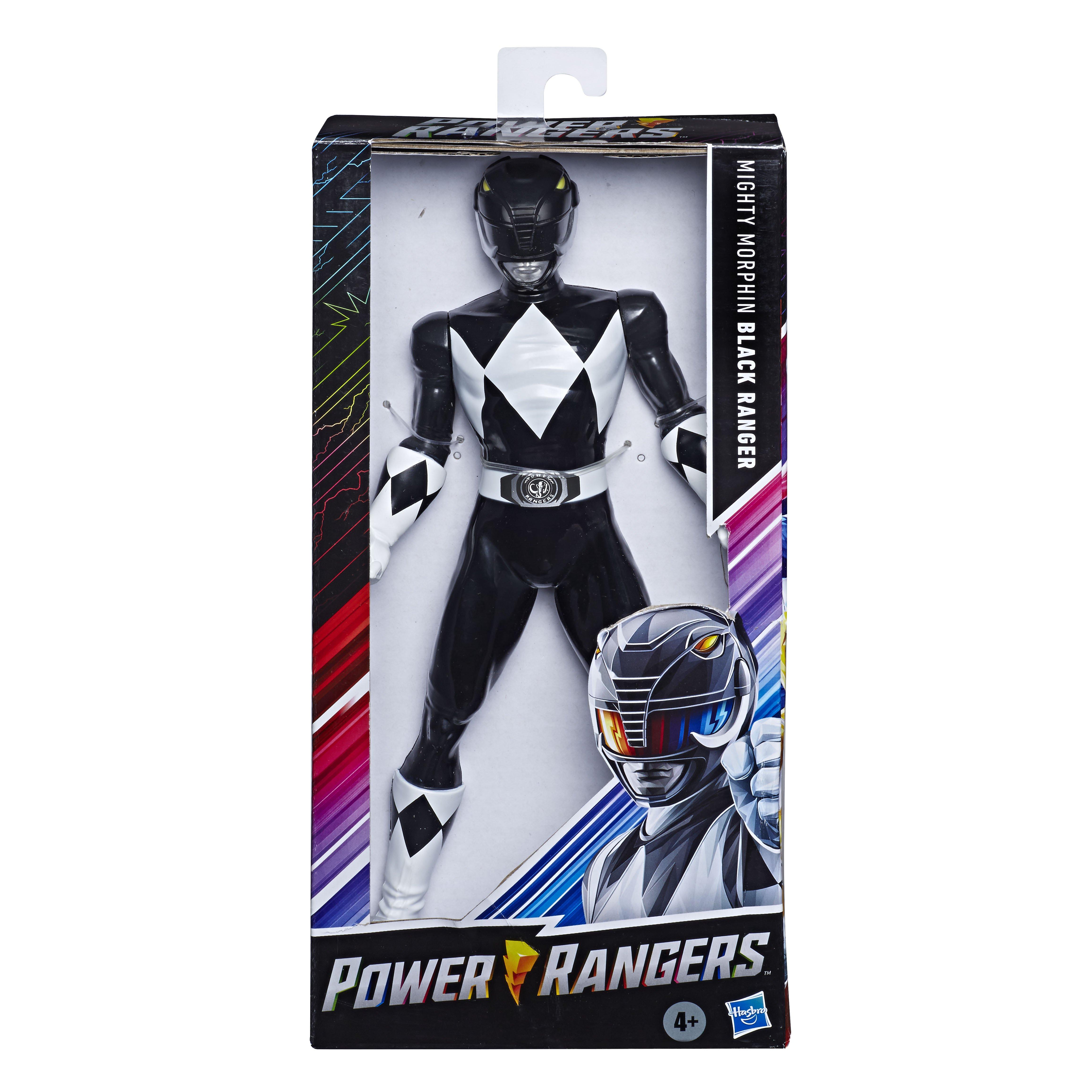 E7898 MMPR 9.5 Inch Basic Figures Black Ranger_IP