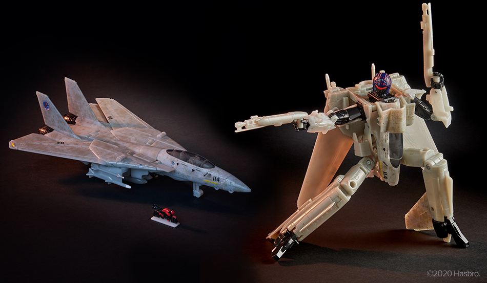 Transformers x Top Gun Collaboration Figure Revealed