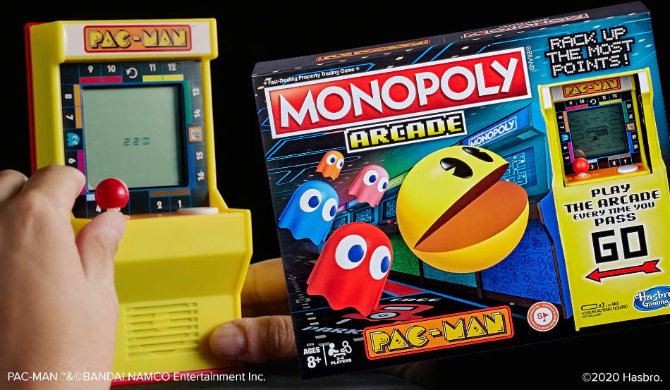 Celebrate Pac-Man's 40th Anniversary with Monopoly Arcade Pac-Man