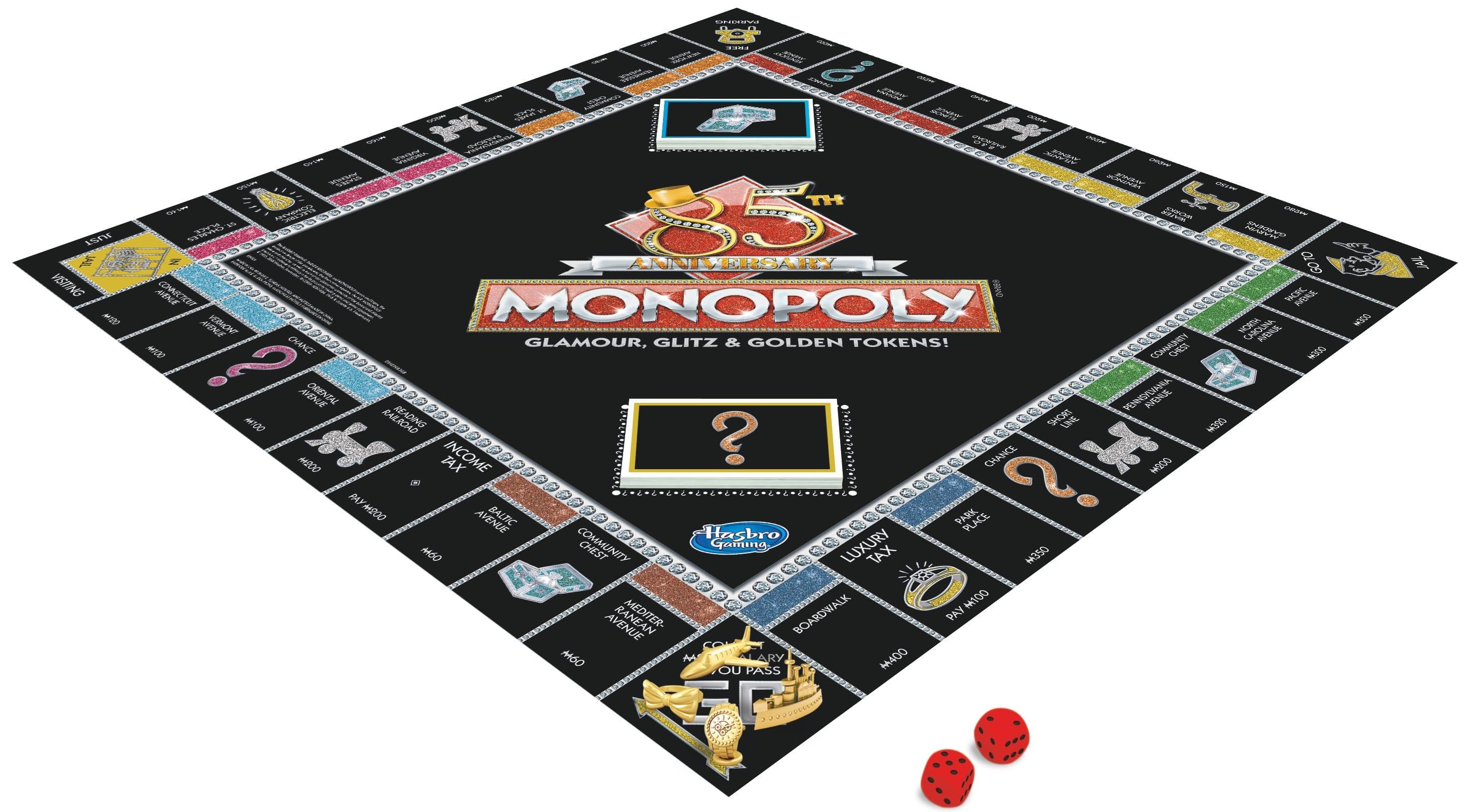 E9983 MONOPOLY 85th board