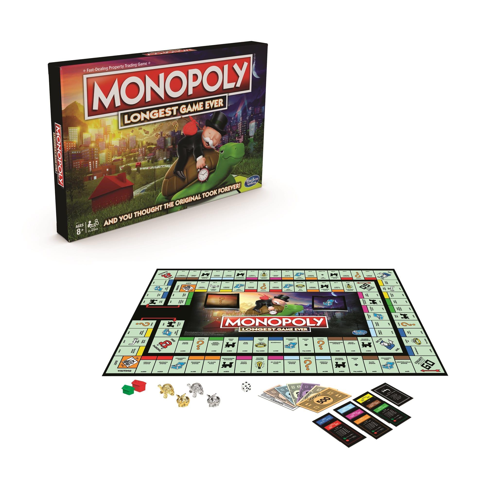 E8915 MONOPOLY Longest Game Ever detail main