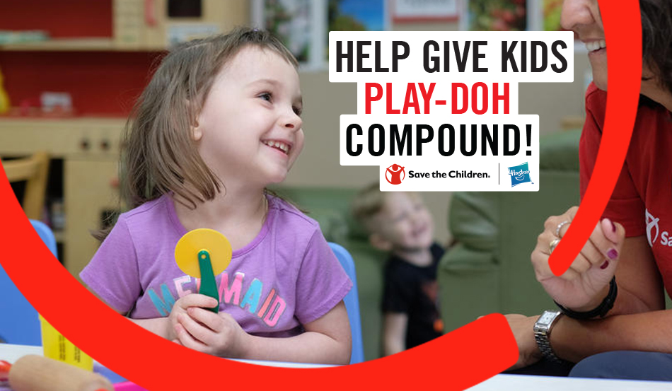 Play-Doh Brand Supports Save the Children's 100 Days of Reading