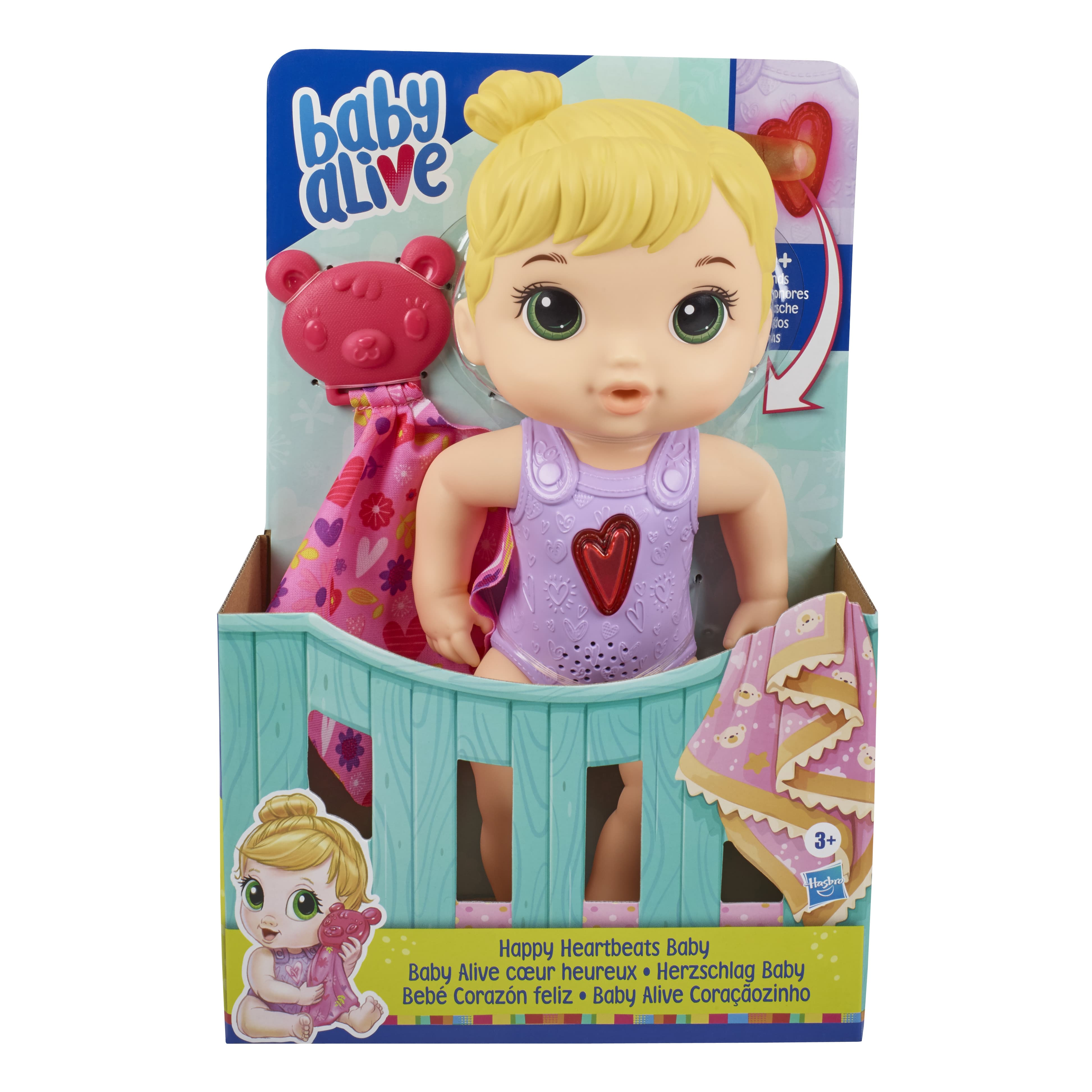 E6946 BABY ALIVE HAPPY HEARTBEATS In Pack