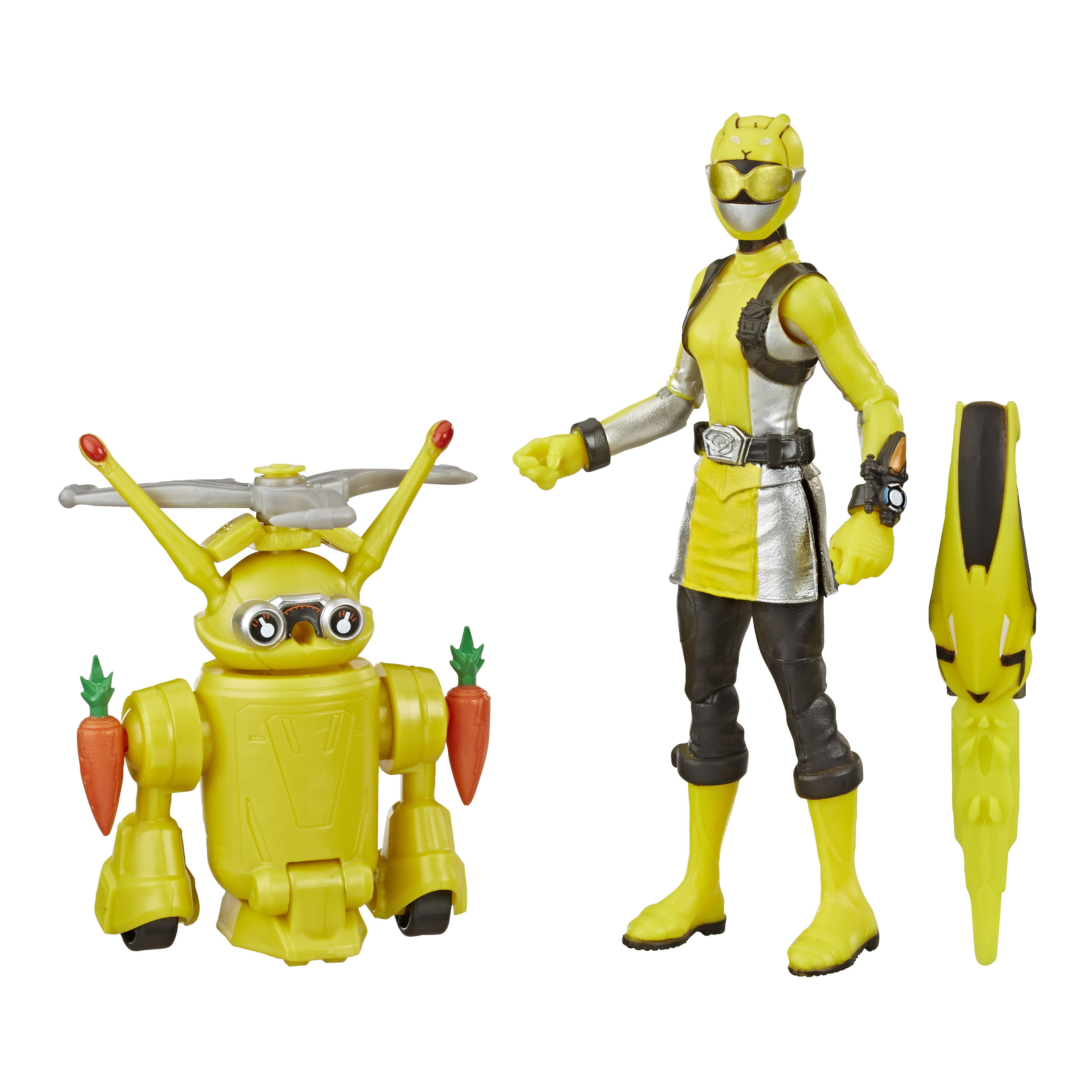 E8087 6in Beastbot 2-pack Yellow Ranger_OOP (2)