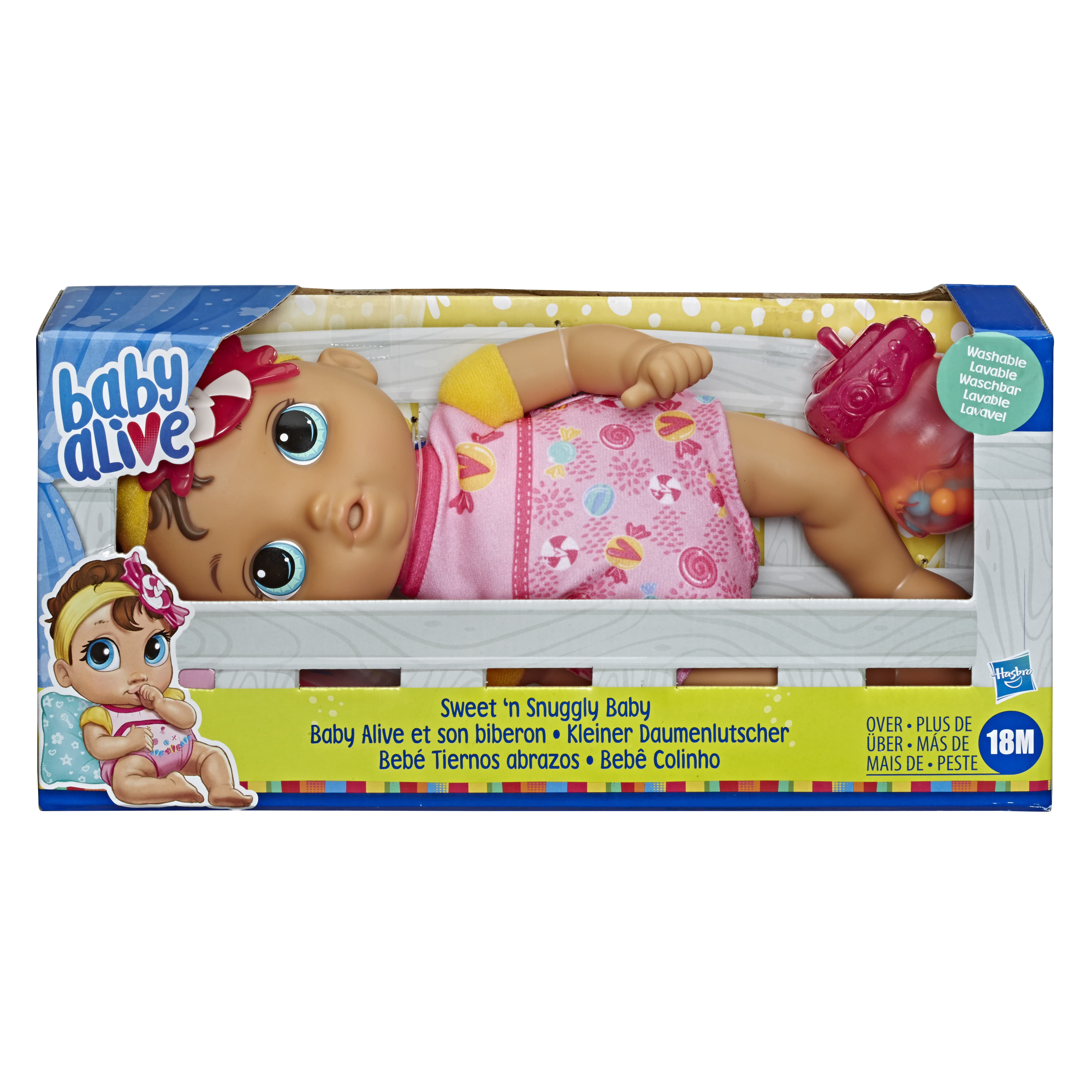 E7599 BABY ALIVE HAPPY SWEET N SNUGGLY In Pack