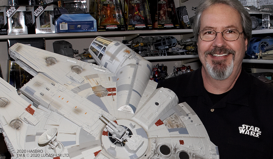 Legendary Star Wars Toy Designer Mark Boudreaux Retires
