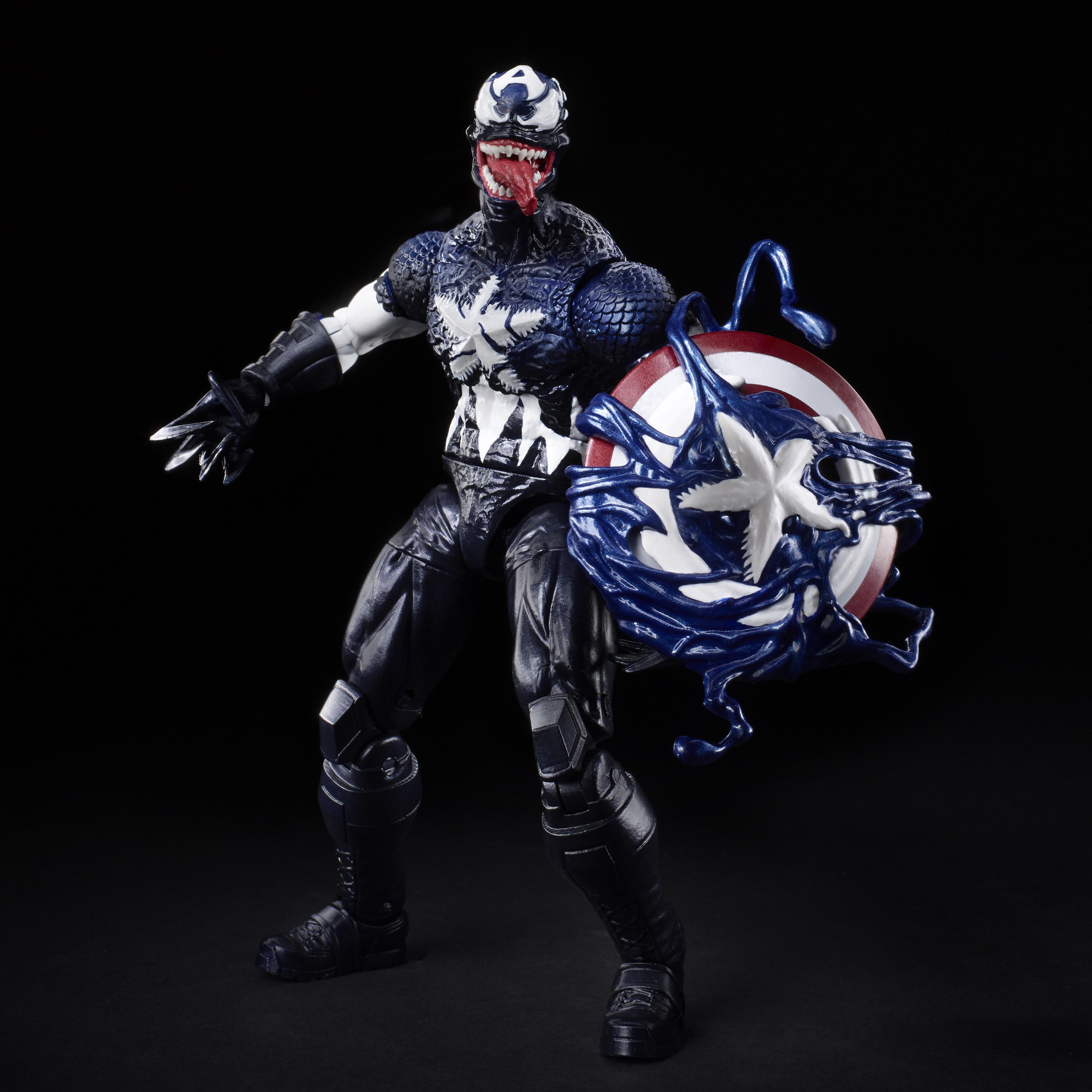 E8894 Marvel Legends Spider Man Venom 6inch Venomized Cap