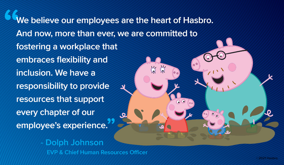 Hasbro Named One of 100 Best Companies for Working Mothers & Dads