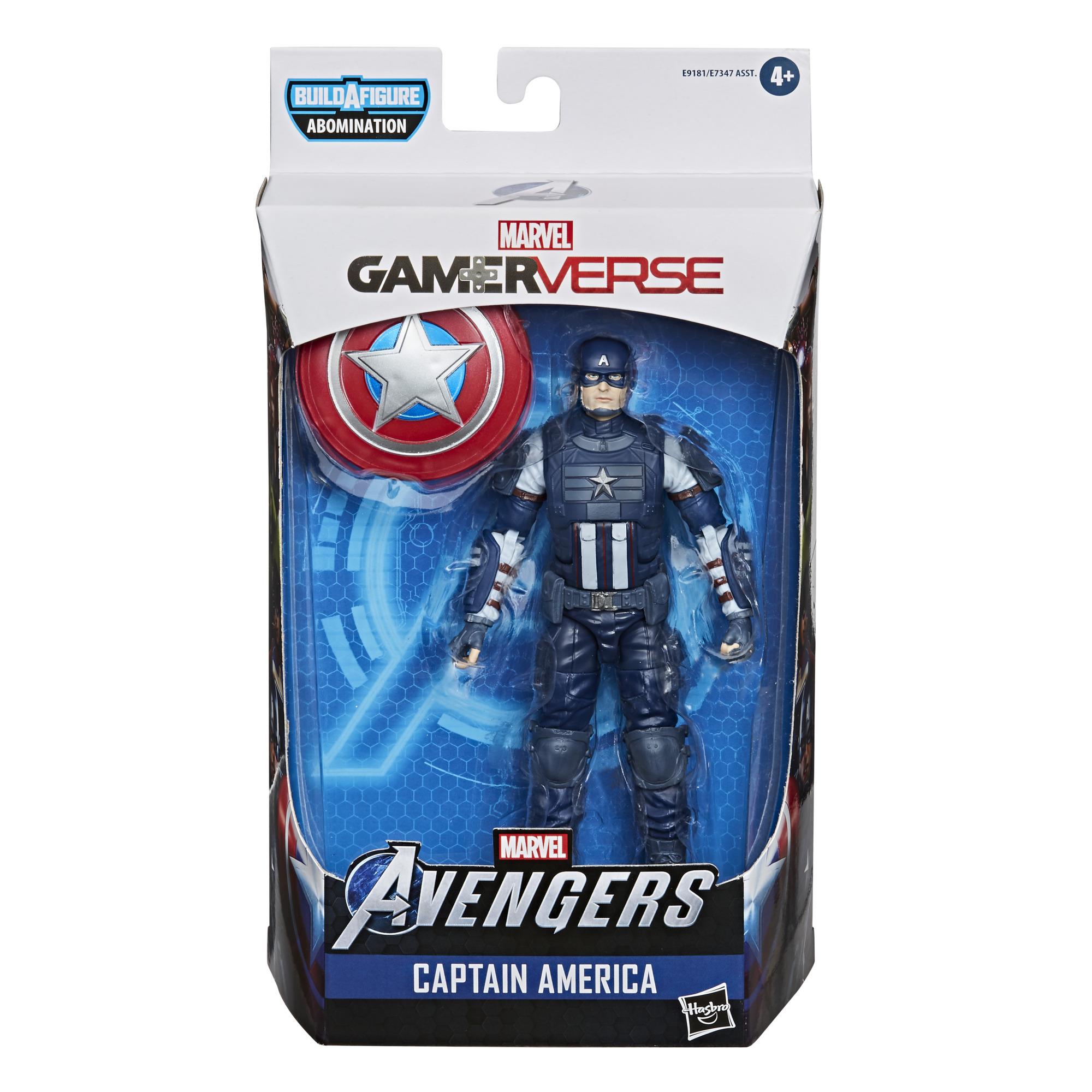 E91815L00 Marvel Avengers Gamerverse Captain America pkg