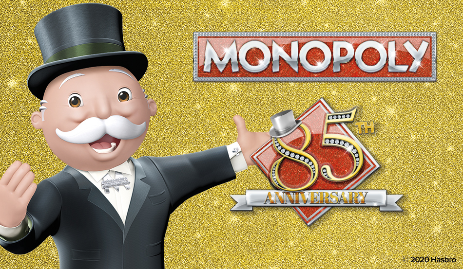 Monopoly Announces Star-Studded </br> 85th Anniversary Collection