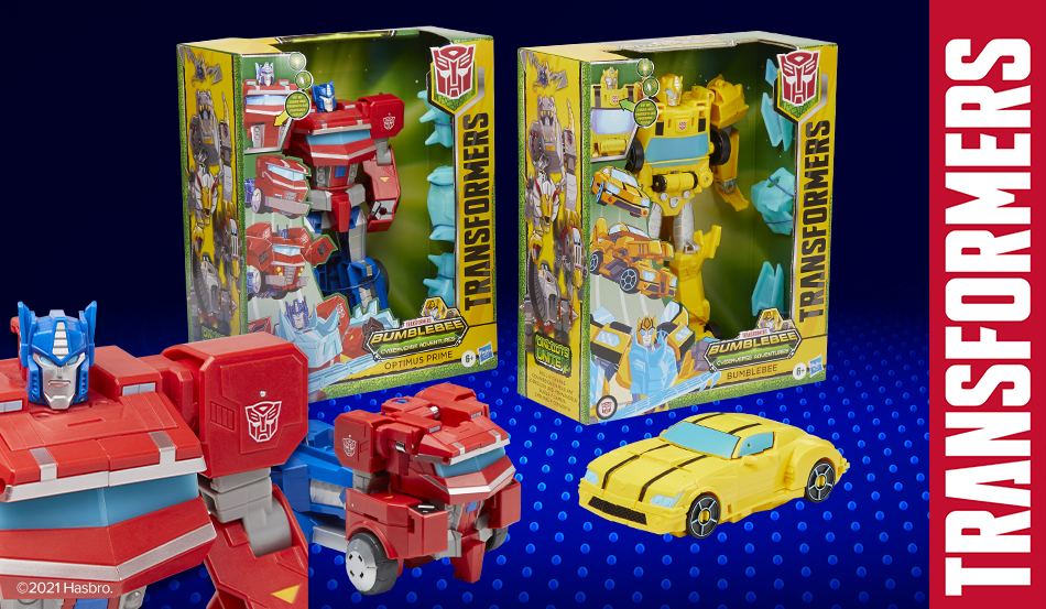 Hasbro Unveils New Cyberverse Adventures Figures Launching this Fall