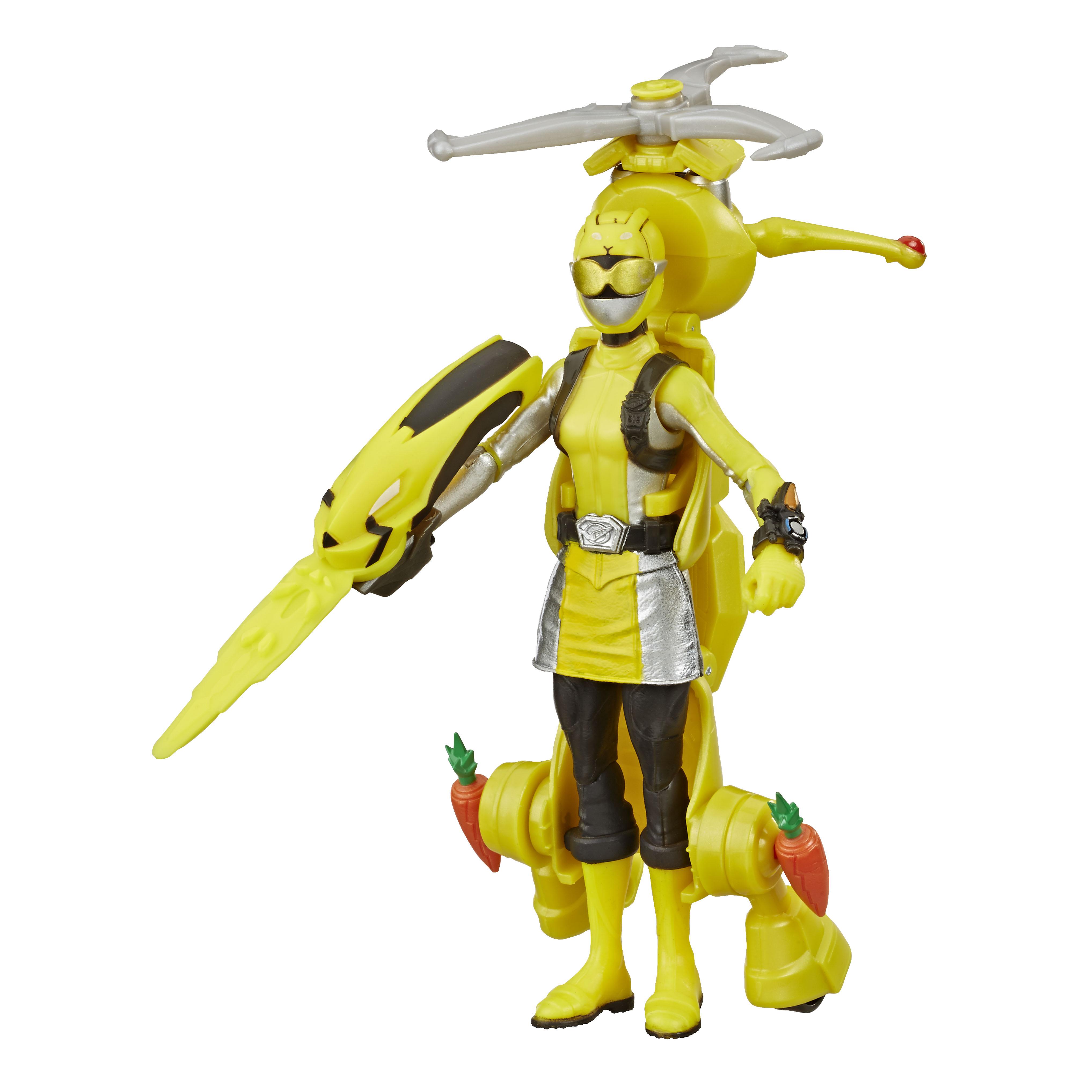 E8087 6in Beastbot 2-pack Yellow Ranger_OOP