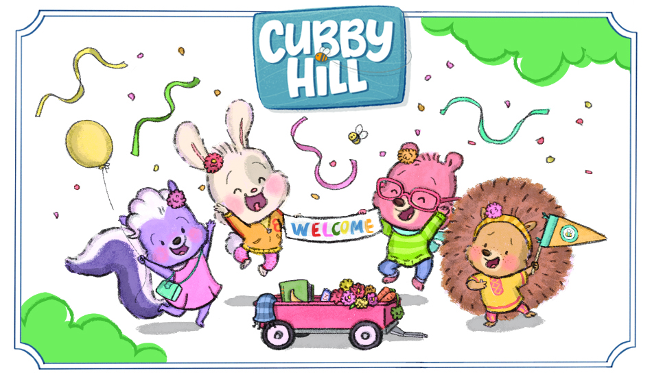 Hop on the Welcome Wagon and Enter the World of Cubby Hill!
