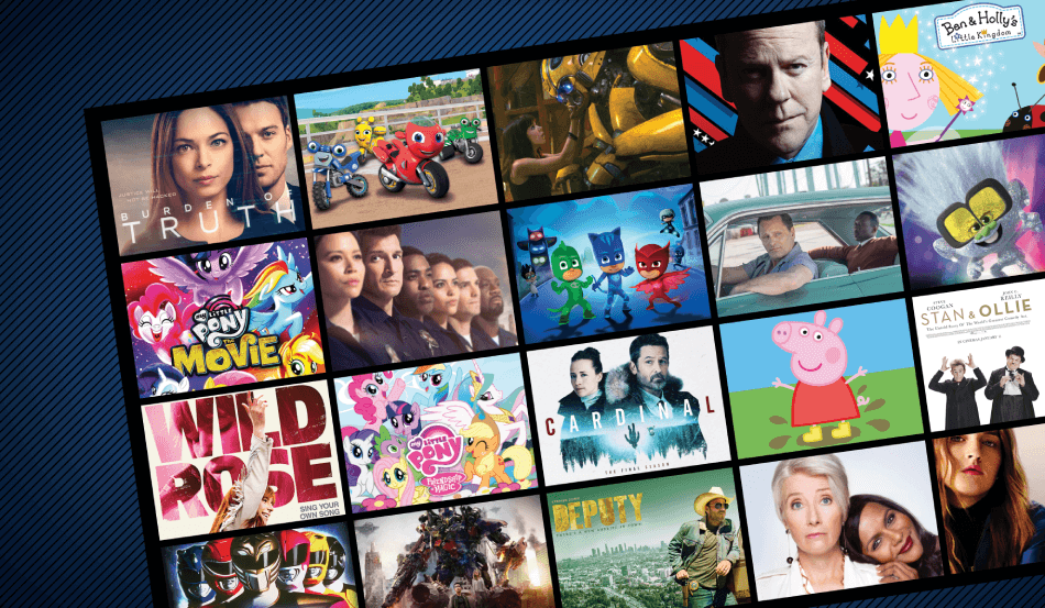 Check out our list of Hasbro/eOne TV, Film and Family Content to Stream