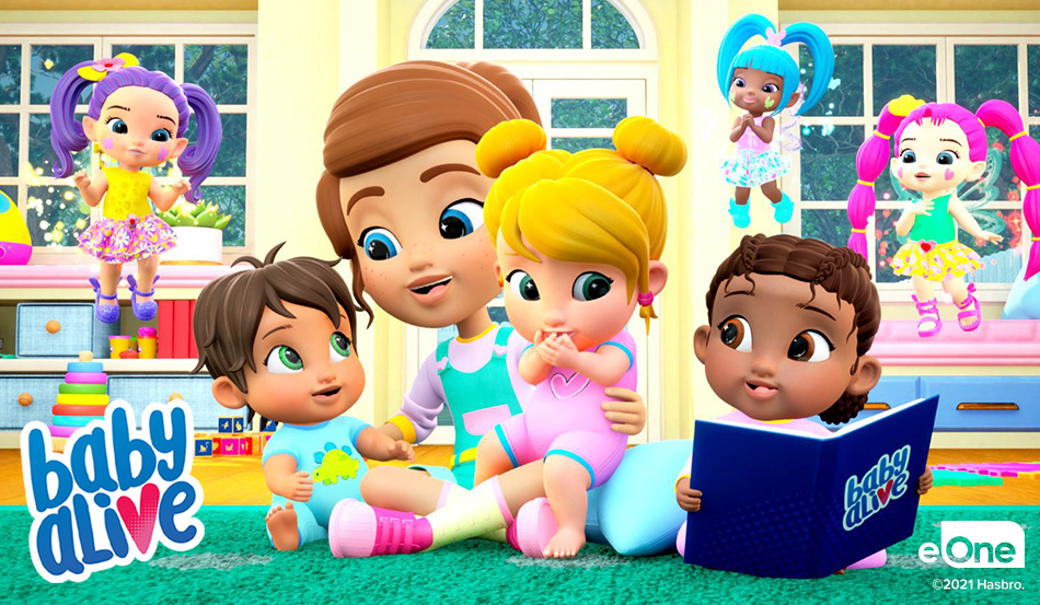 Baby Alive Reveals New Dolls & YouTube Series Launching this Summer!