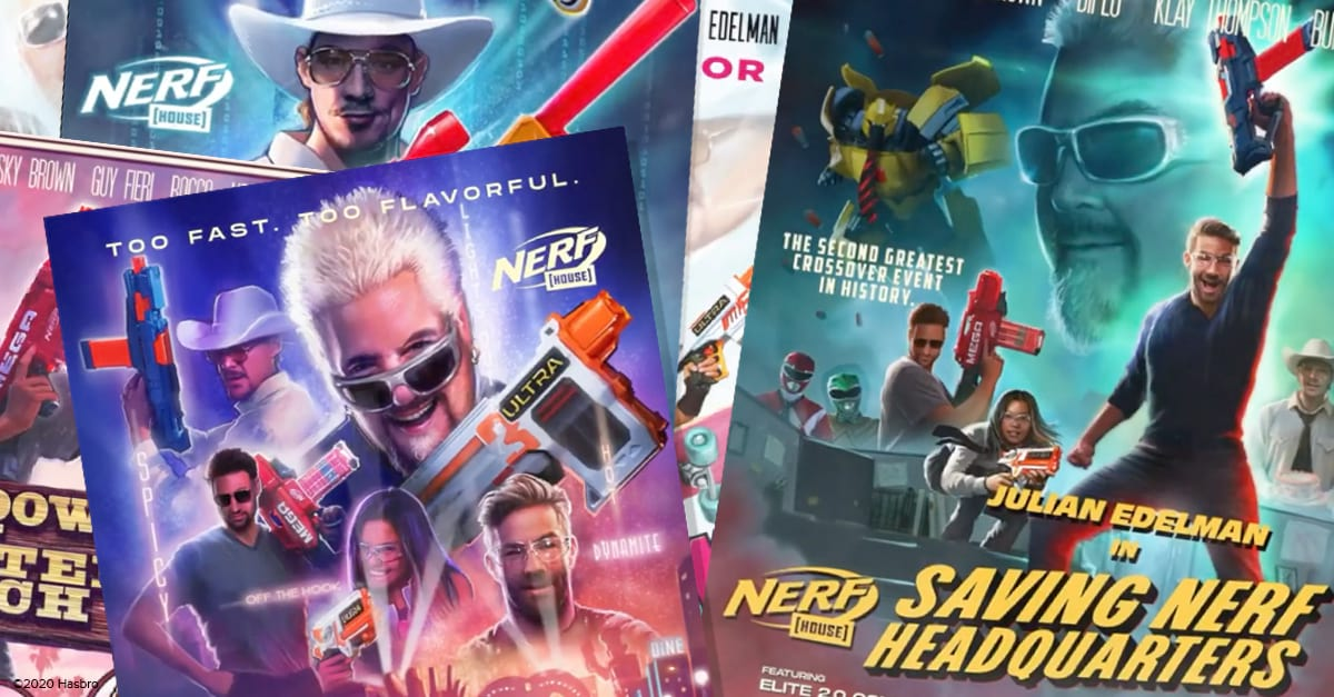 Hasbro Partners with Superdigital to Bring Sequel to Nerf House
