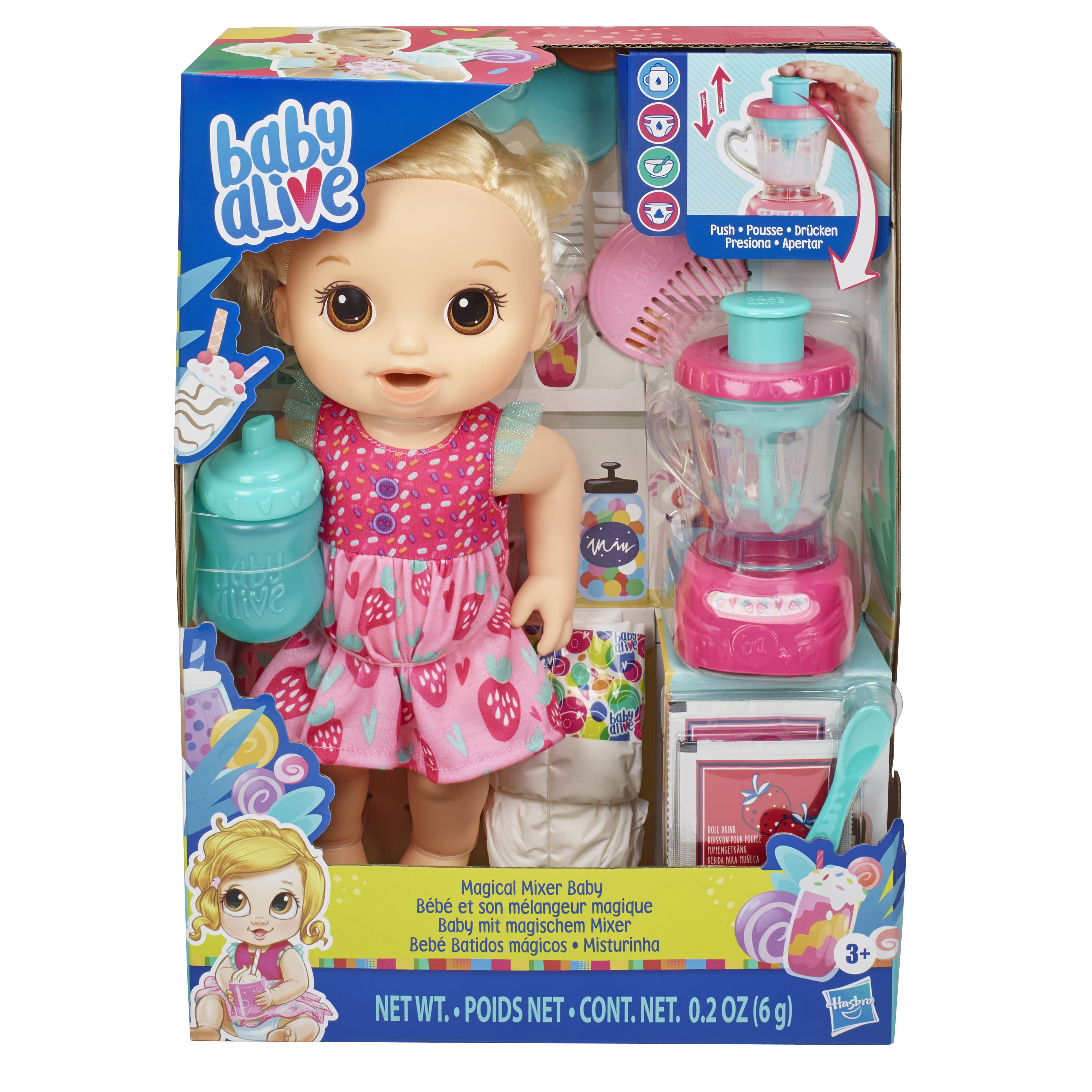 E6943 BABY ALIVE MAGICAL MIXER 1 In Pack