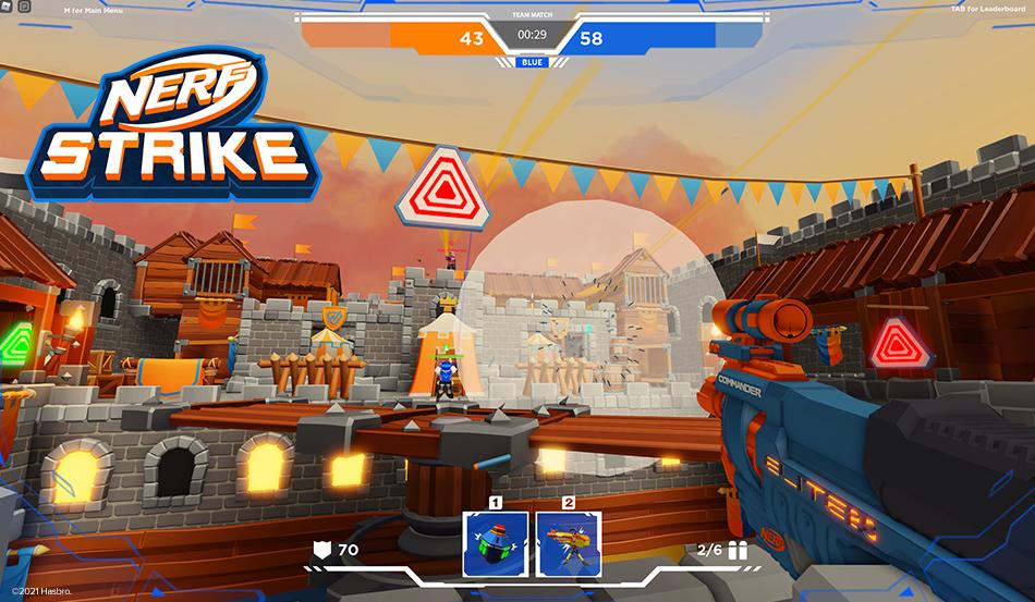 Blast Away with NERF Strike Game on Roblox