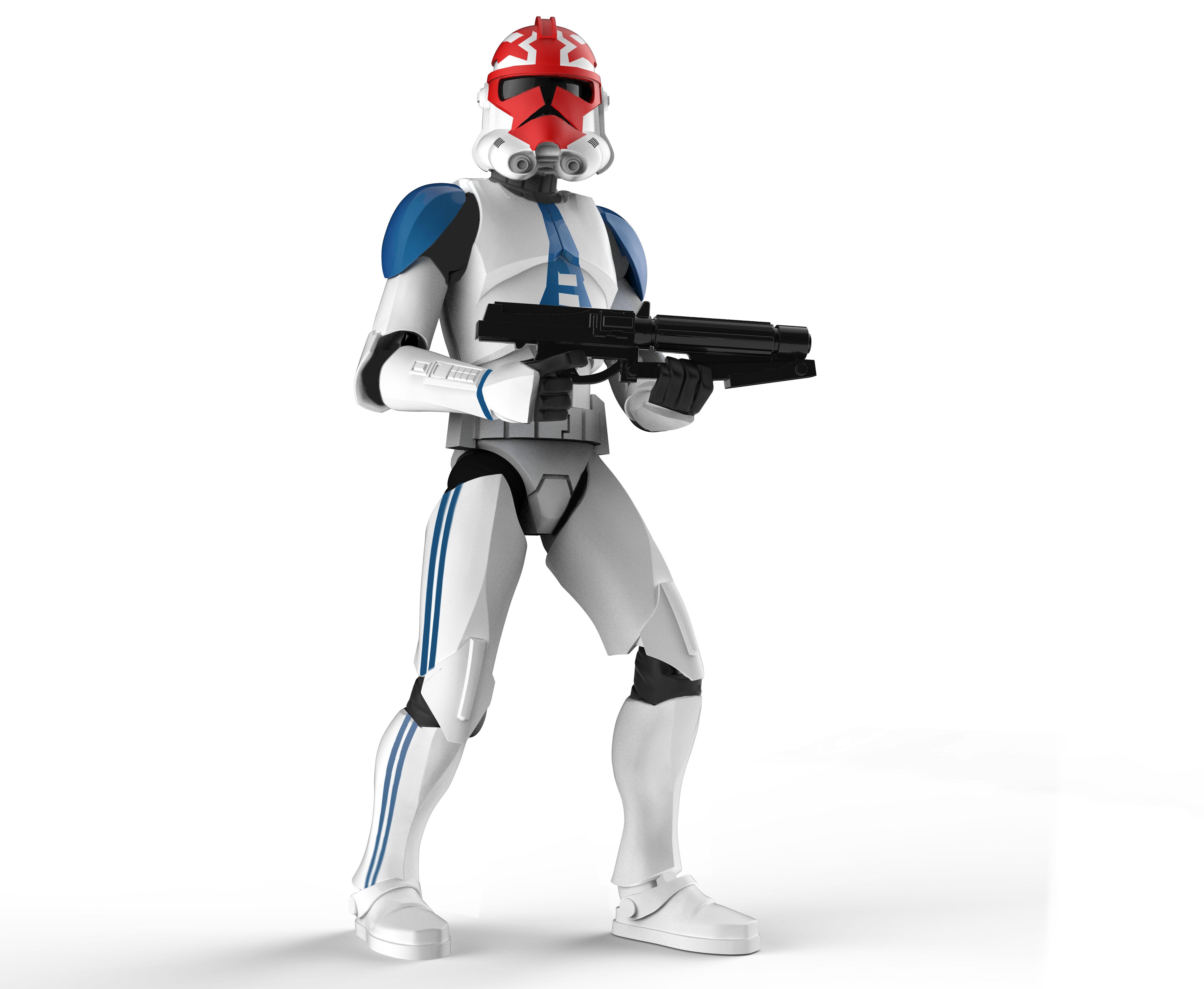 E9624 Ahsokas Clone Trooper 2