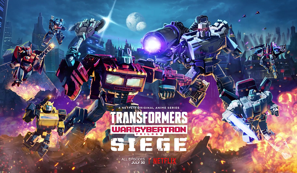 Transformers: War for Cybertron Trilogy: Siege Out Now on Netflix