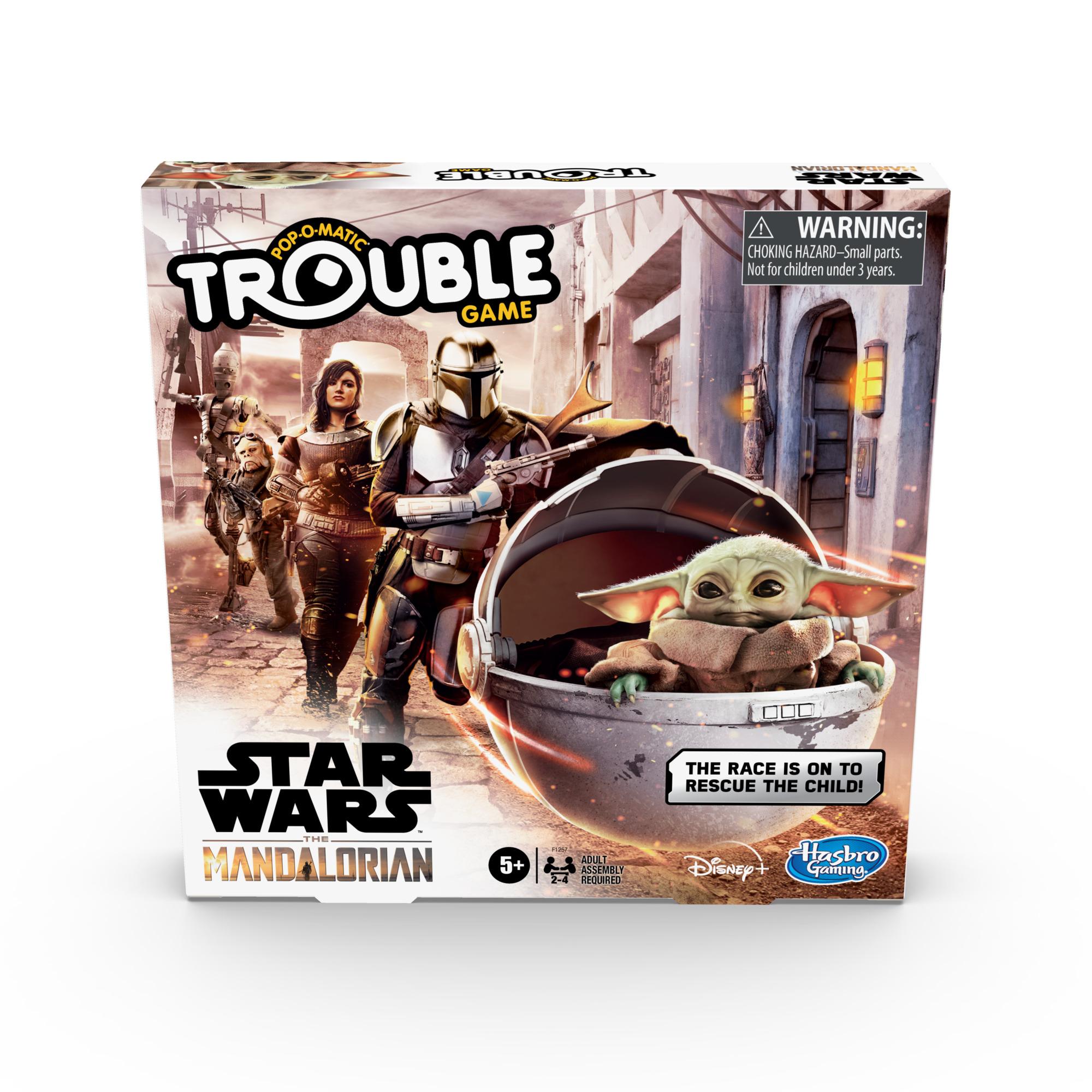 F12570000 Star Wars The Mandalorian Trouble Game pkg 3