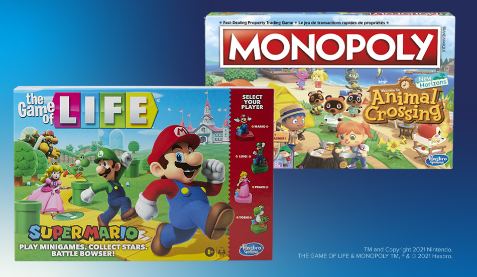 Hasbro Gaming and Nintendo Team Up