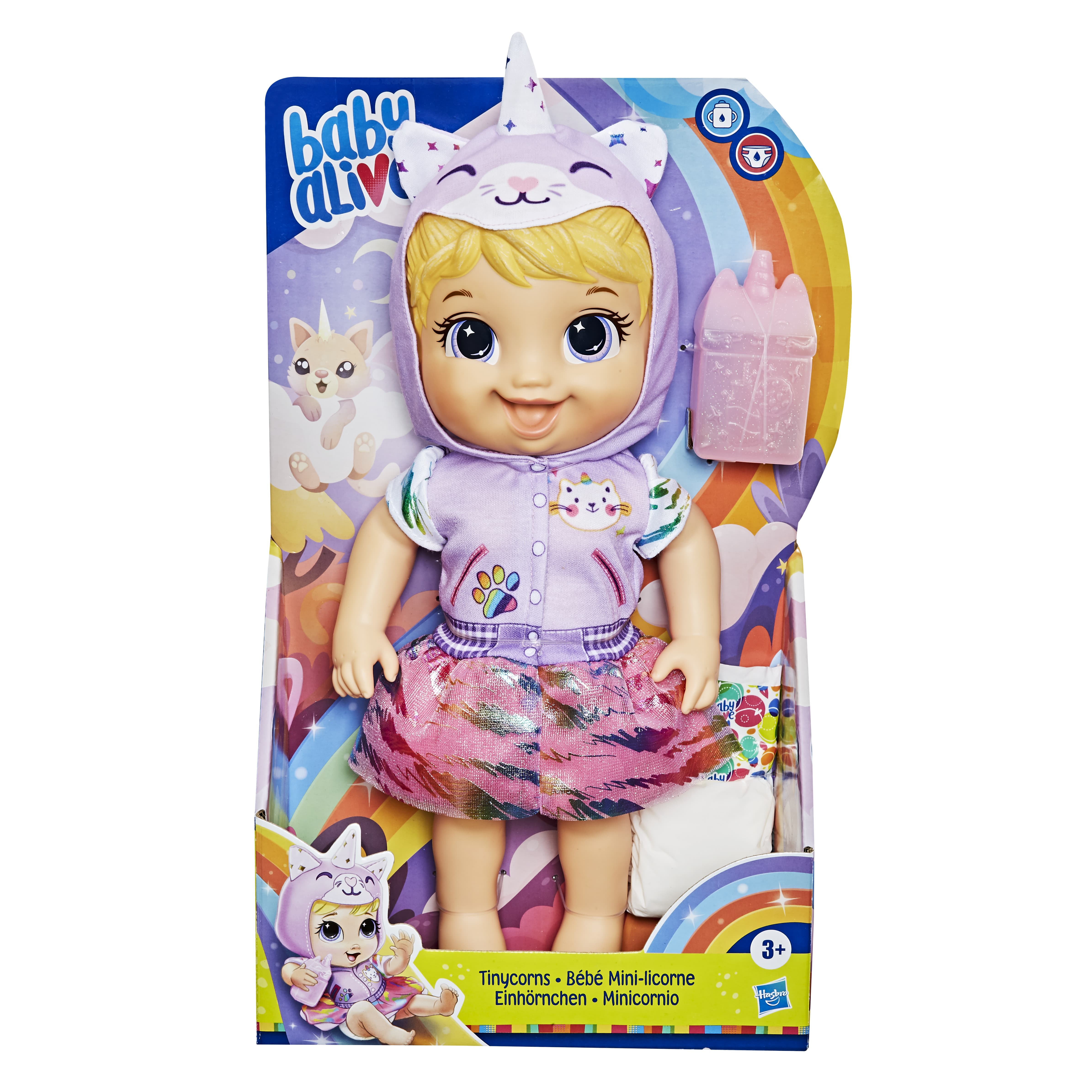 E9166 BABY ALIVE TINYCORN 2 In Pack.