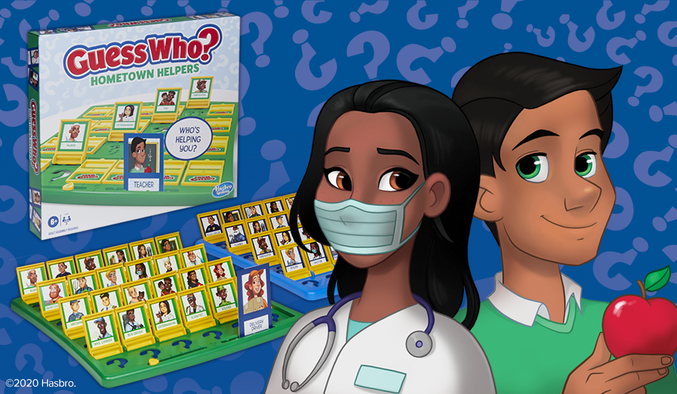 Hasbro Honors Essential Workers with Guess Who? Hometown Helpers
