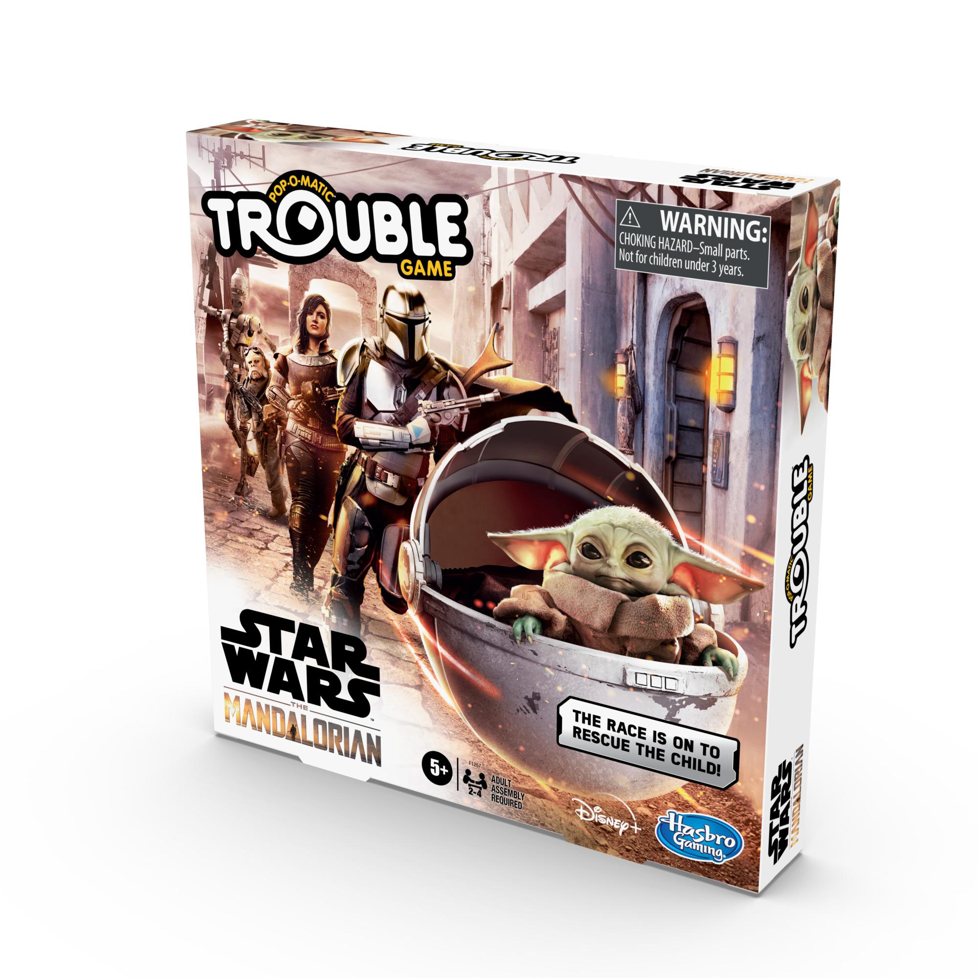 F12570000 Star Wars The Mandalorian Trouble Game pkg 4