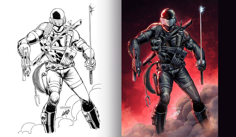 Deadpool Creator & G.I. JOE Living Legend Collide on Epic Cover