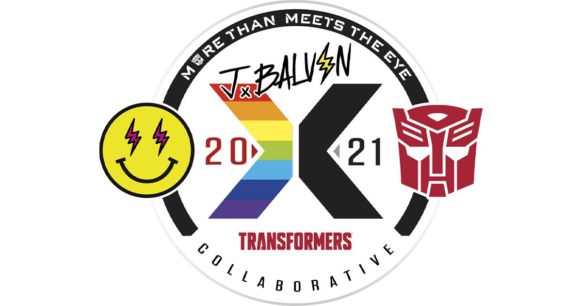 Global Superstar J Balvin and Transformers Team Up