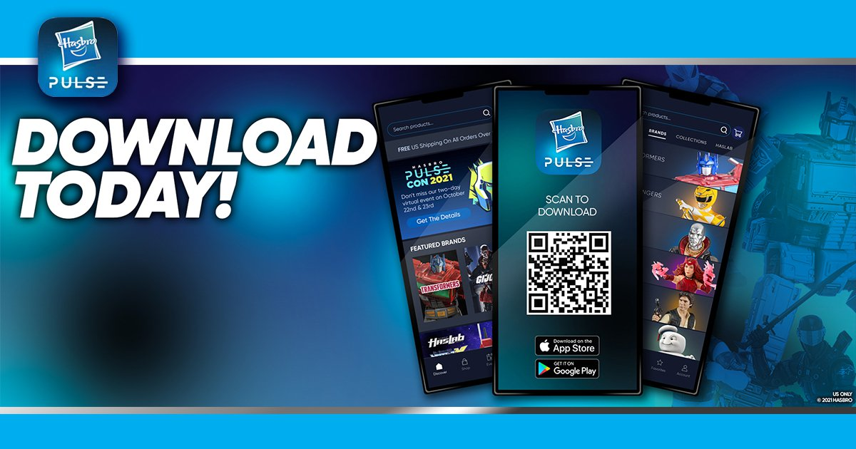 The Hasbro Pulse App is Here!
