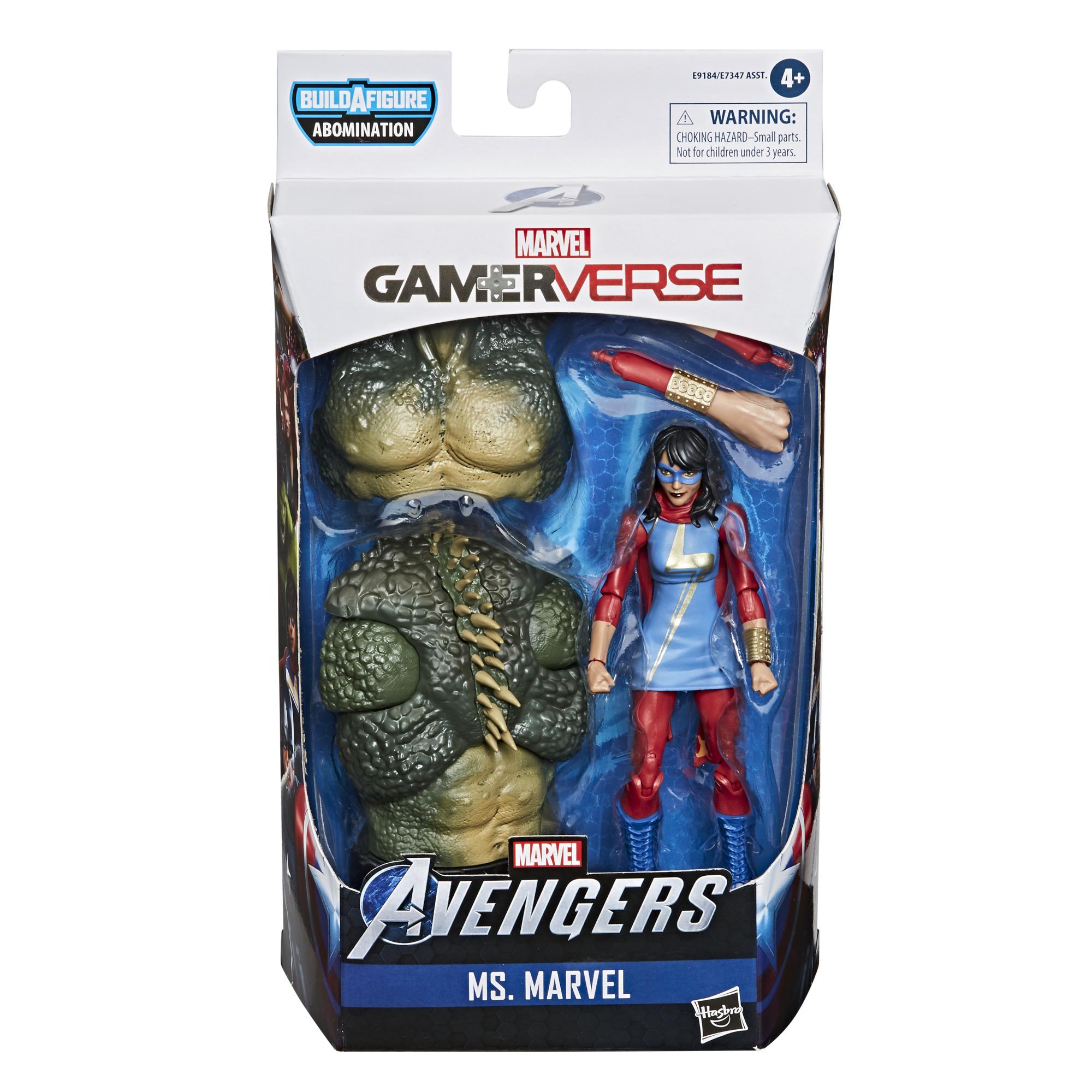 E91845L00 Marvel Avengers Gamerverse Ms Marvel pkg