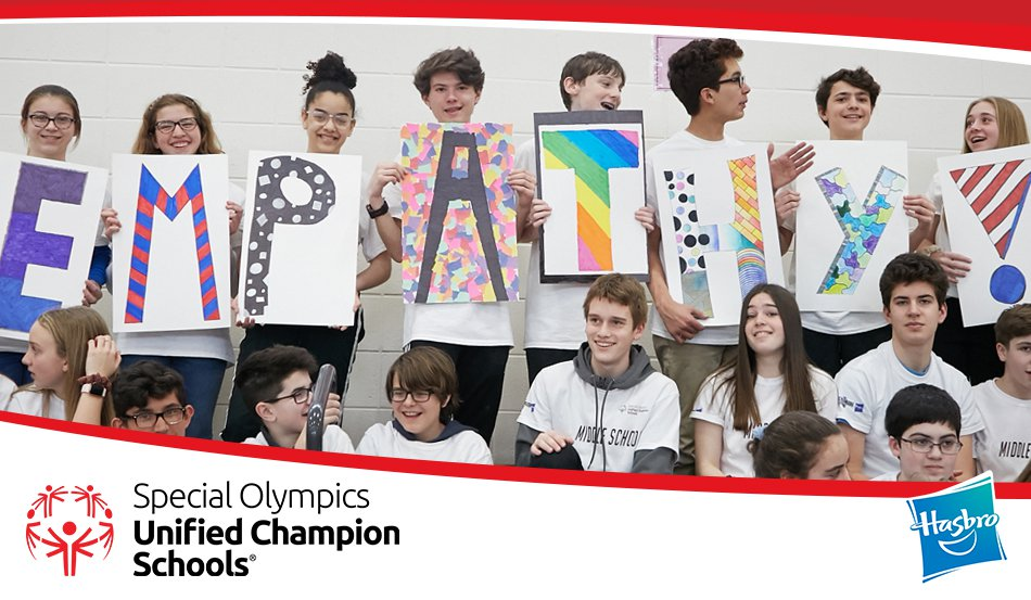 Hasbro and Special Olympics Celebrate Inclusive Schools