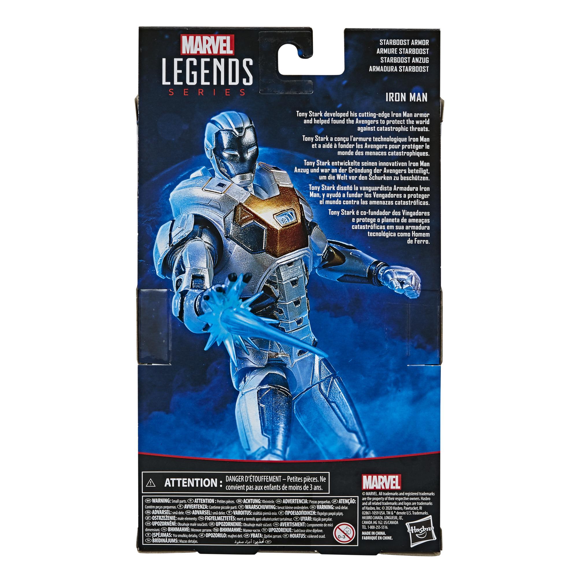 E87115L00 Marvel Legends Starboost Iron Man detail