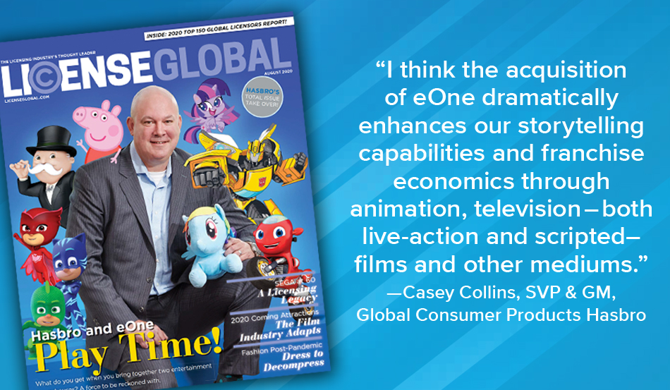 Hasbro Takes Over the August Issue of License Global Magazine!